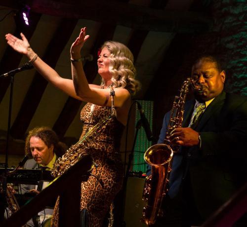 Performing With Pee Wee Ellis