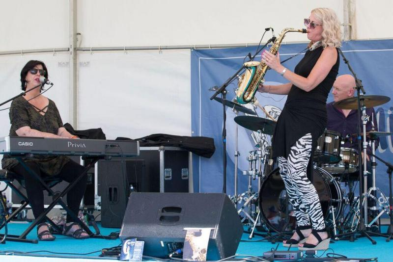 With Liane Carroll - Guiting Music Festival